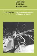Electrical Properties of Disordered Metals
