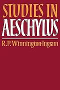 Studies in Aeschylus (Cambridge Paperback Library)