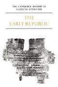 Cambridge History of Classical Literature Latin Literature, Part 1  The Early Republic