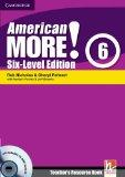 American More! Six-Level Edition Level 6 Teacher's Resource Book with Testbuilder Audio CD/C...