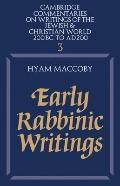 Early Rabbinic Writings - Hyam Z. Maccoby - Paperback