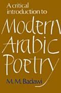 Critical Introduction to Modern Arabic Poetry
