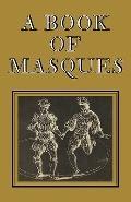 A Book of Masques: In Honour of Allardyce Nicoll
