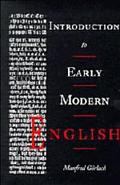 Introduction to Early Modern English