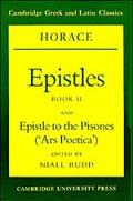Epistles, Book II and Epistle to the Pisones