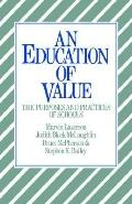 Education of Value