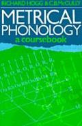 Metrical Phonology A Coursebook