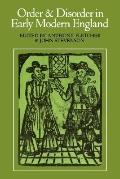 Order and Disorder in Early Modern England - Anthony Fletcher - Paperback