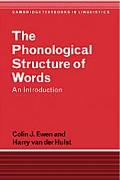 Phonological Structure of Words An Introduction