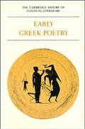 Cambridge History of Classical Literature Part 1, Early Greek Poetry