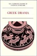 Cambridge History of Classical Literature Greek Drama