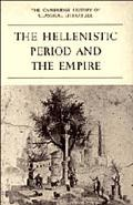 Cambridge History of Classical Literature Part 4, the Hellenistic Period and the Empire