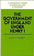 Government of England Under Henry I