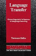 Language Transfer Cross-Linguistic Influence in Language Learning