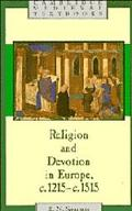 Religion and Devotion in Europe, C.1215- C. 1515