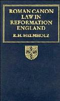 Roman Canon Law in Reformation England