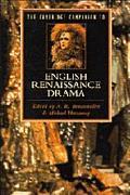 CAMBRIDGE COMPANION TO ENGLISH RENAISSANCE DRAMA (P)