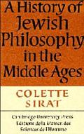 History of Jewish Philosophy in the Middle Ages