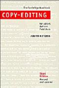 Copy-Editing The Cambridge Handbook for Editors, Authors and Publishers