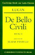 Lucan, De Bello Civili Book II