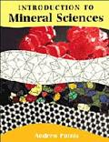 Introduction to Mineral Sciences