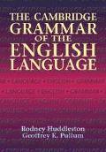 Cambridge Grammar of the English Language