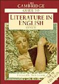 Cambridge Guide to Literature in English