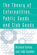 Theory of Externalities, Public Goods, and Club Goods