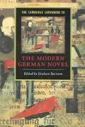 Cambridge Companion to the Modern German Novel