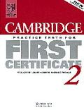 Cambridge Practice Test for First Certificate 2