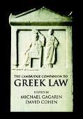 Cambridge Companion to Ancient Greek Law