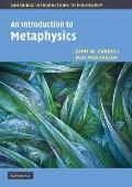 An Introduction to Metaphysics (Cambridge Introductions to Philosophy)