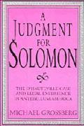 Judgment for Solomon