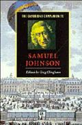 Cambridge Companion to Samuel Johnson