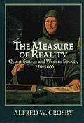 Measure of Reality Quantification and Western Society, 1250-1600