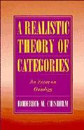 Realistic Theory of Categories An Essay on Ontology