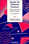 English for Academic Purposes A Guide and Resource Book for Teachers