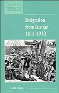 Emigration from Europe, 1815-1930