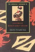 Cambridge Companion to George Bernard Shaw