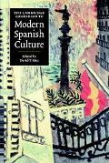 Cambridge Companion to Modern Spanish Culture
