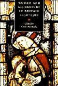 Women and Literature in Britain, 1150-1500