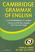 Cambridge Grammar of English A Comprehensive Guide Spoken And Written English Grammar And Usage