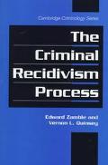 Criminal Recidivism Process