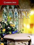 KJV Christening Bible Kj11w - Cambridge University Press Staf - Paperback