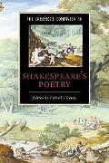 Cambridge Companion to Shakespeare's Poetry