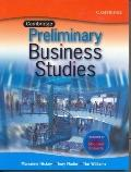 Cambridge Business Studies Preliminary