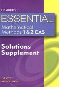 Essential Mathematical Methods 1 & 2 Solutions Supplement