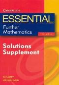Essential Further Mathematics