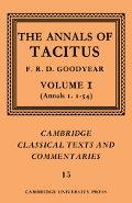 Annals Of Tacitus Books 1-6