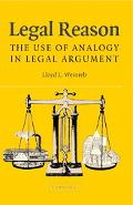 Legal Reason The Use Of Analogy In Legal Argument